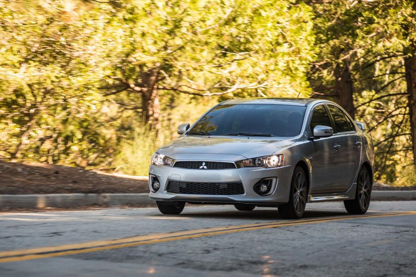 2016 Mitsubishi Lancer facelift unveiled in the US Image #386019