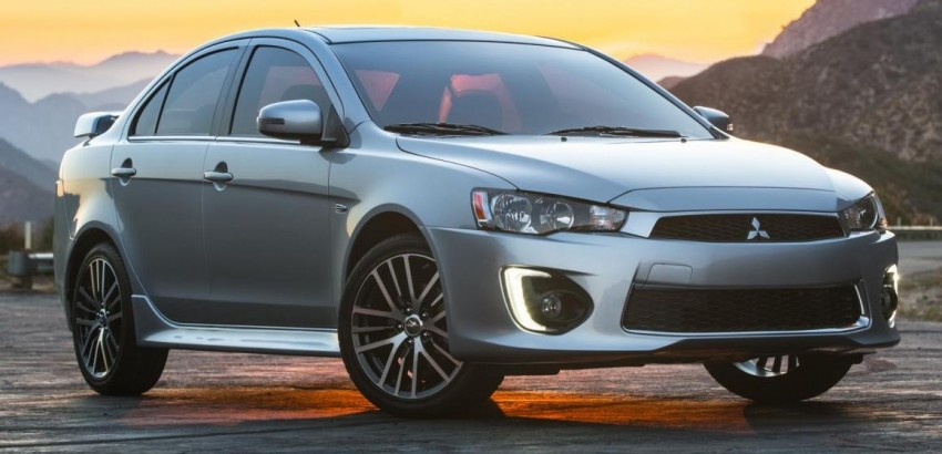 2016 Mitsubishi Lancer facelift unveiled in the US Image #386020