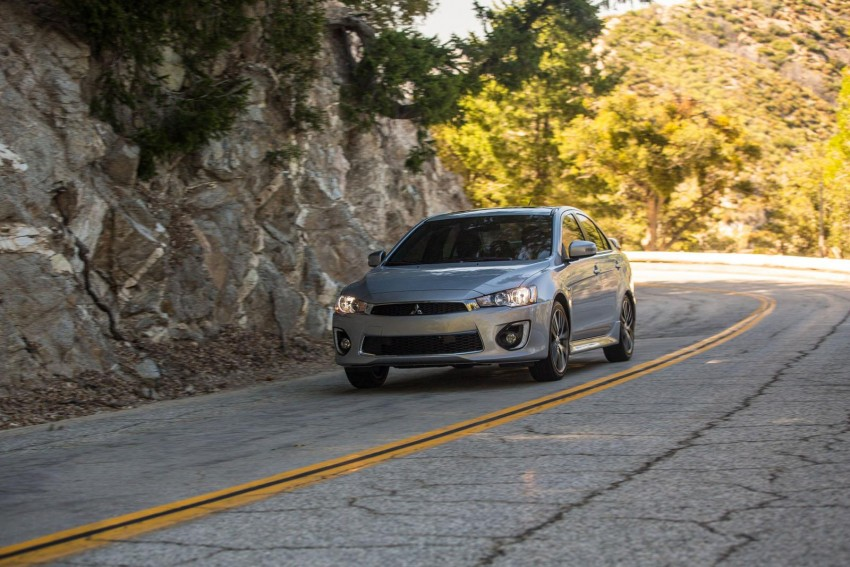 2016 Mitsubishi Lancer facelift unveiled in the US Image #386024