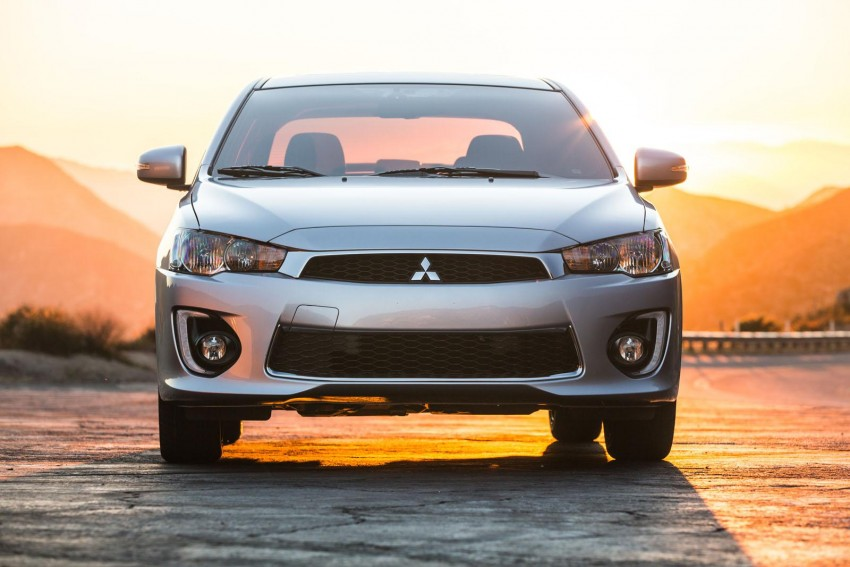 2016 Mitsubishi Lancer facelift unveiled in the US Image #386028