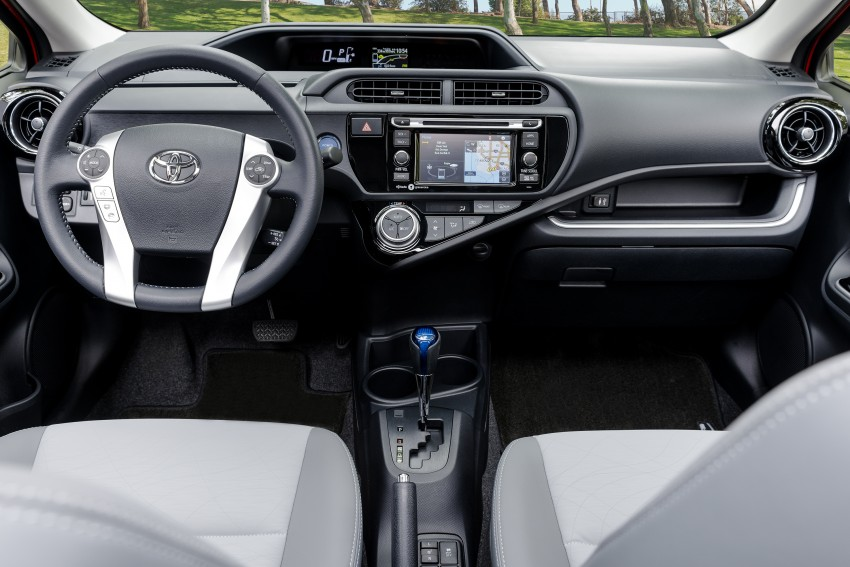 2016 Toyota Prius c gets Safety Sense, special edition Image #393676