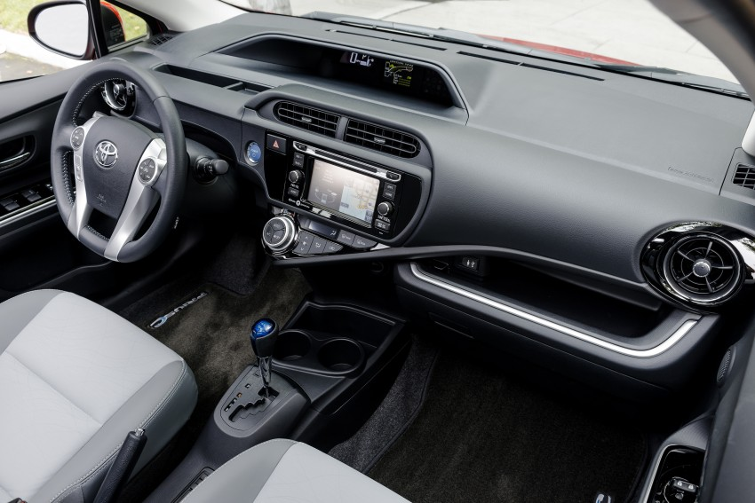 2016 Toyota Prius c gets Safety Sense, special edition Image #393677