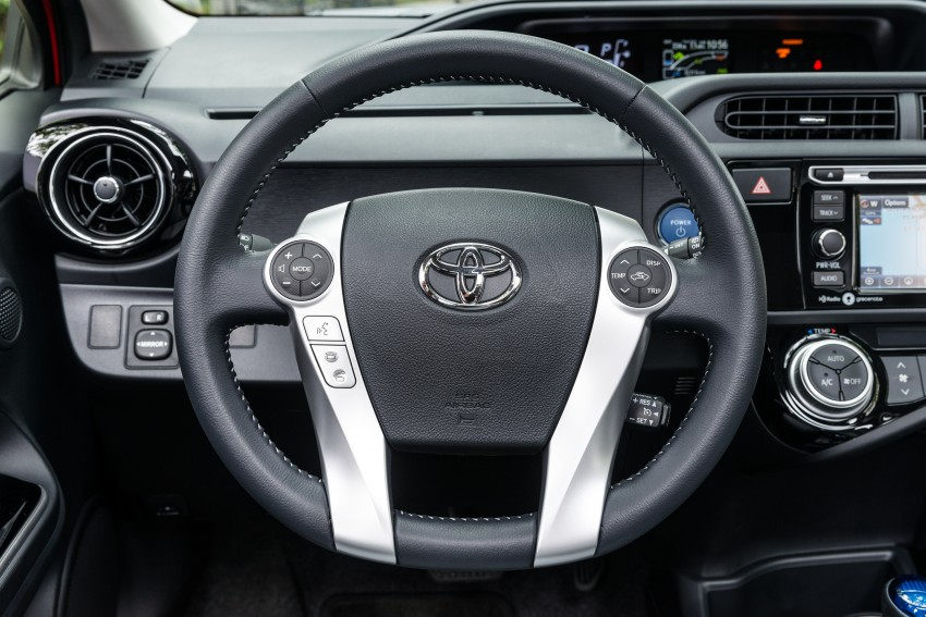 2016 Toyota Prius c gets Safety Sense, special edition Image #393679