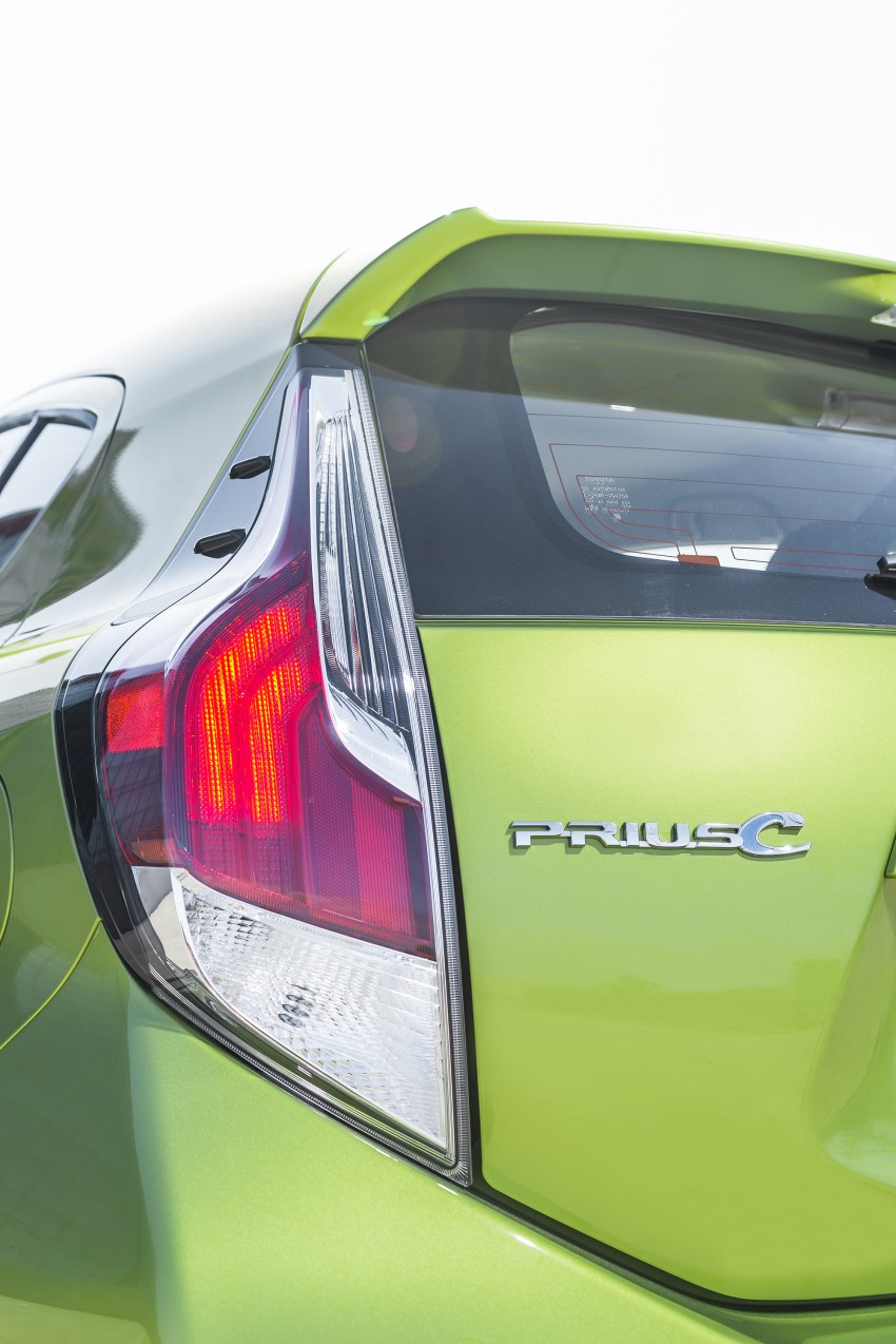 2016 Toyota Prius c gets Safety Sense, special edition Image #393690