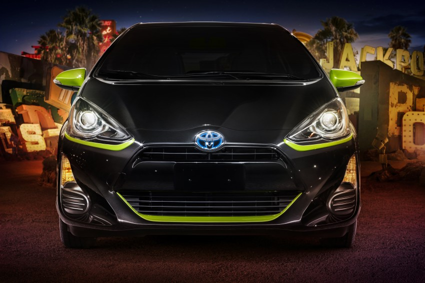 2016 Toyota Prius c gets Safety Sense, special edition Image #393697