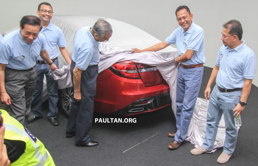 2016 Proton Perdana – first official preview, details Image #387360