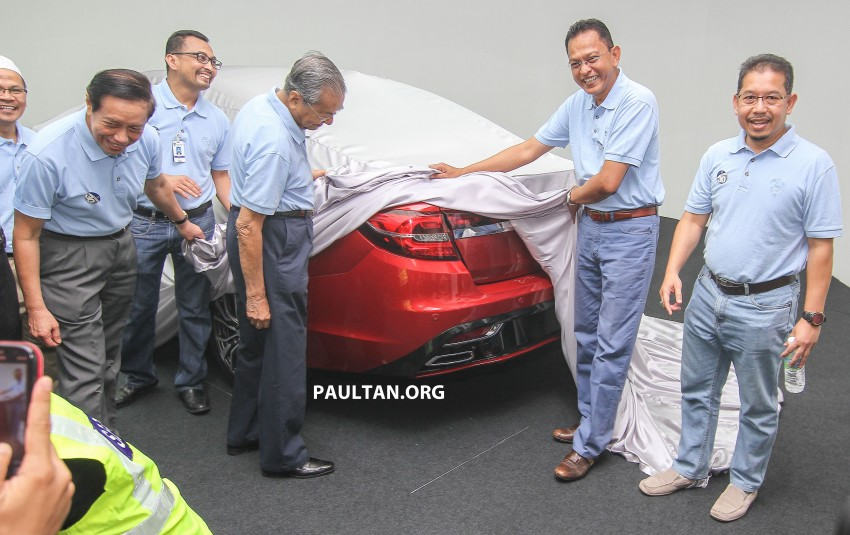 2016 Proton Perdana – first official preview, details Image #387361