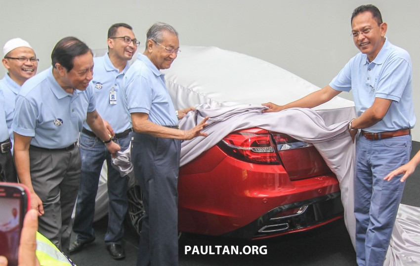 2016 Proton Perdana – first official preview, details Image #387379