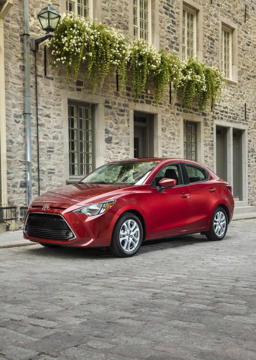 2016 Toyota Yaris Sedan – another Mazda 2 clone! Image #386706