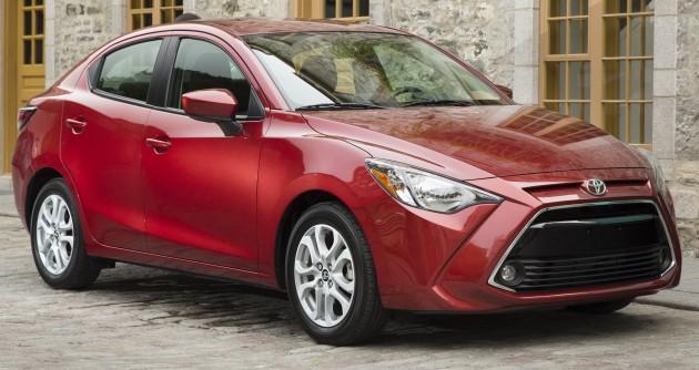 2016 Toyota Yaris Sedan - another Mazda 2 clone!