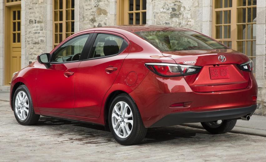 2016 Toyota Yaris Sedan – another Mazda 2 clone! Image #386718