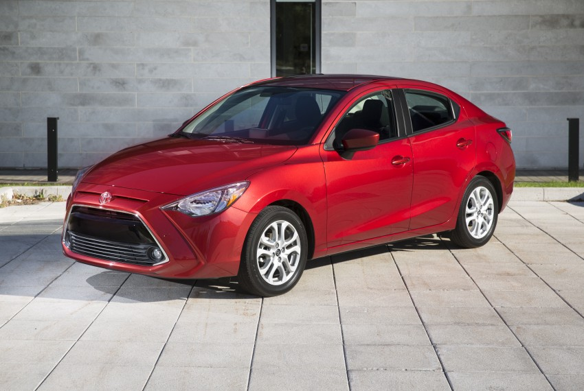 2016 Toyota Yaris Sedan – another Mazda 2 clone! Image #386721