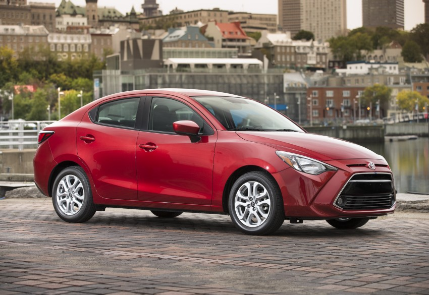2016 Toyota Yaris Sedan – another Mazda 2 clone! Image #386708