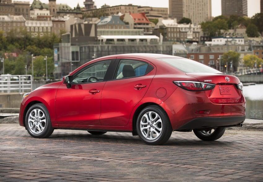 2016 Toyota Yaris Sedan – another Mazda 2 clone! Image #386709