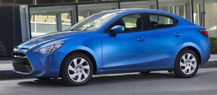 2016 Toyota Yaris Sedan – another Mazda 2 clone! Image #386747