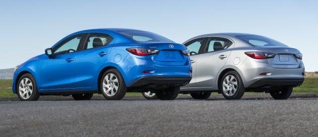 2016 Toyota Yaris Sedan Another Mazda 2 Clone
