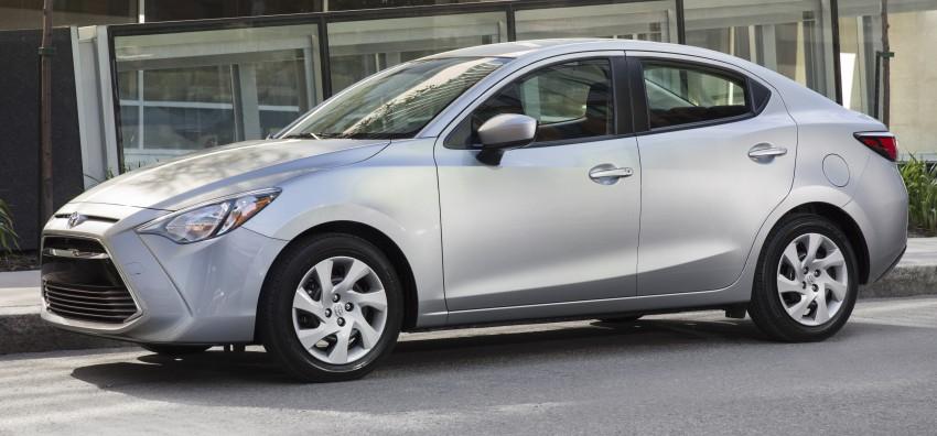 2016 Toyota Yaris Sedan – another Mazda 2 clone! Image #386767
