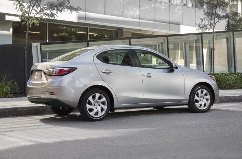 2016 Toyota Yaris Sedan – another Mazda 2 clone! Image #386768