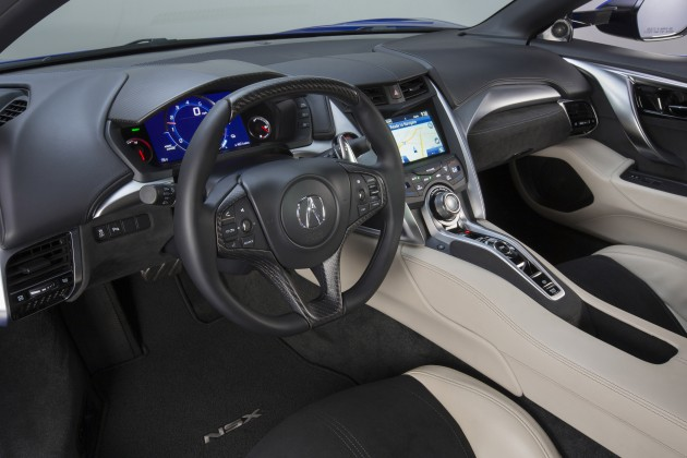 2017 Acura NSX. The Result Is An Interior Trimmed In Both Leather And  Alcantara For U201cthe Perfect Combination Of Luxury Comfort And Dynamic  Driving Support.