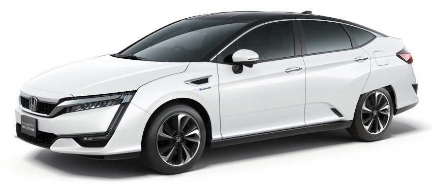 Tokyo 2015: Honda Clarity Fuel Cell makes its debut Image #399022