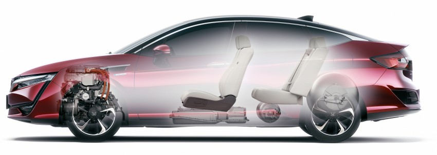 Tokyo 2015: Honda Clarity Fuel Cell makes its debut Image #399030