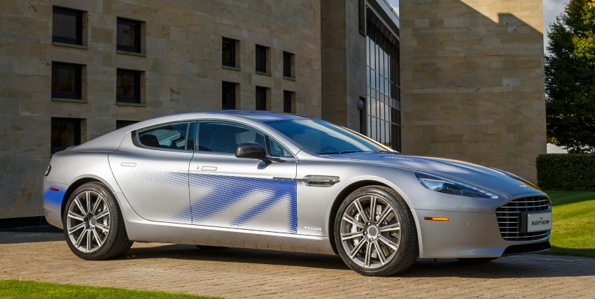 Aston Martin RapidE electric car gets Chinese support Image #396057