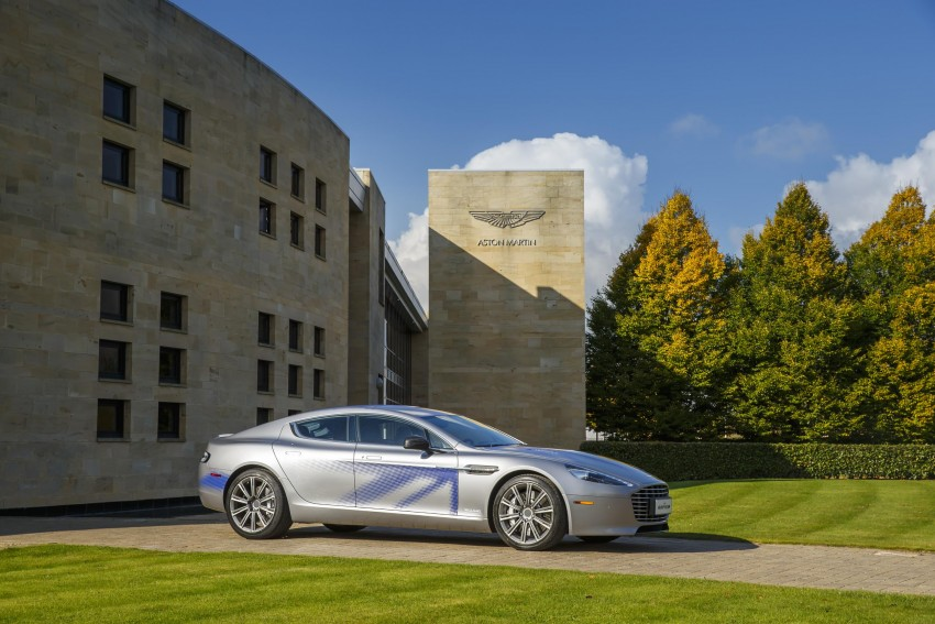 Aston Martin RapidE electric car gets Chinese support Image #396058