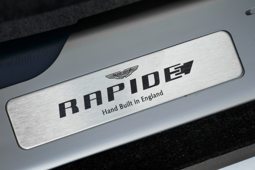 Aston Martin RapidE electric car gets Chinese support Image #396117