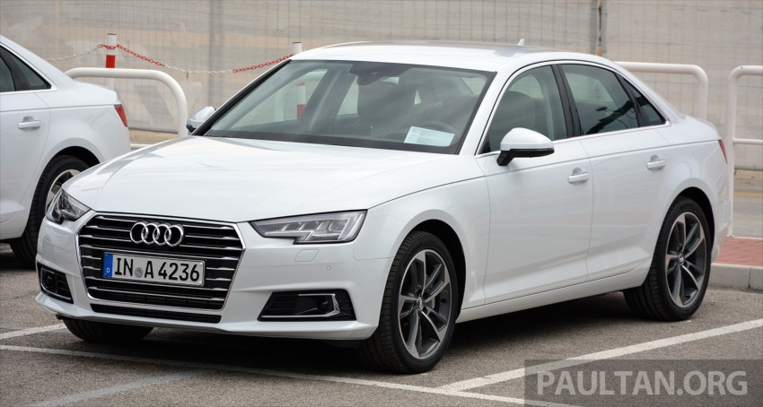 DRIVEN: B9 Audi A4 – handsome suit, inner beauty Image #386250