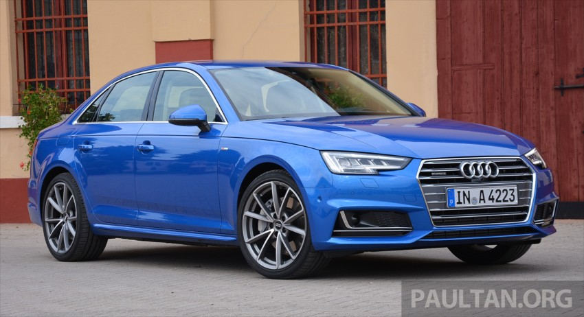 DRIVEN: B9 Audi A4 – handsome suit, inner beauty Image #386267