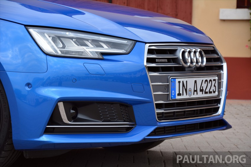 DRIVEN: B9 Audi A4 – handsome suit, inner beauty Image #386273