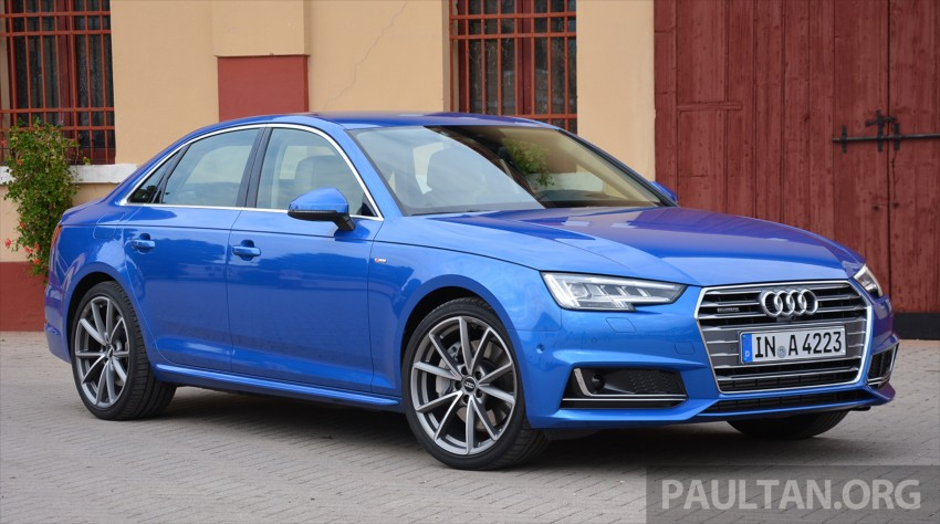 DRIVEN: B9 Audi A4 – handsome suit, inner beauty Image #386275