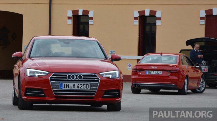 DRIVEN: B9 Audi A4 – handsome suit, inner beauty Image #386282