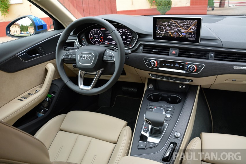 DRIVEN: B9 Audi A4 – handsome suit, inner beauty Image #386292