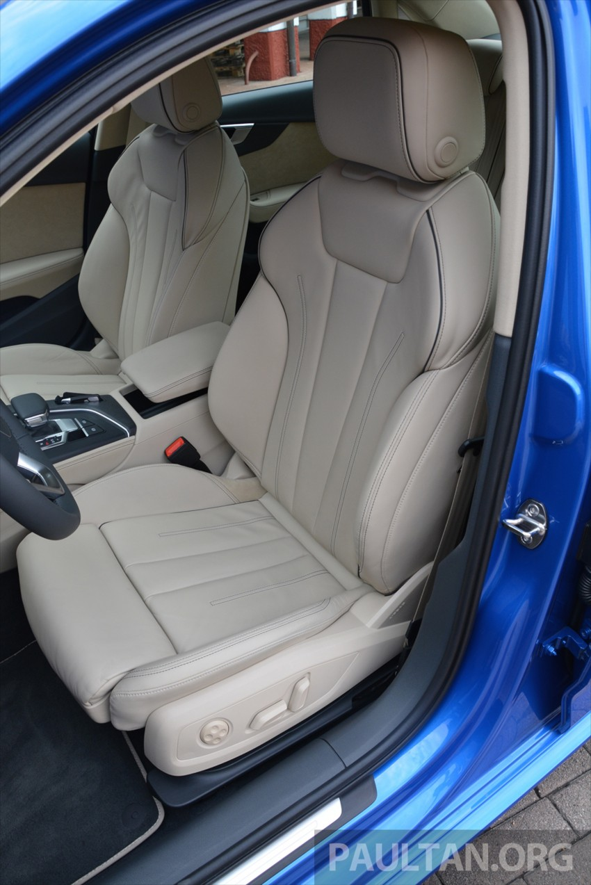 DRIVEN: B9 Audi A4 – handsome suit, inner beauty Image #386304