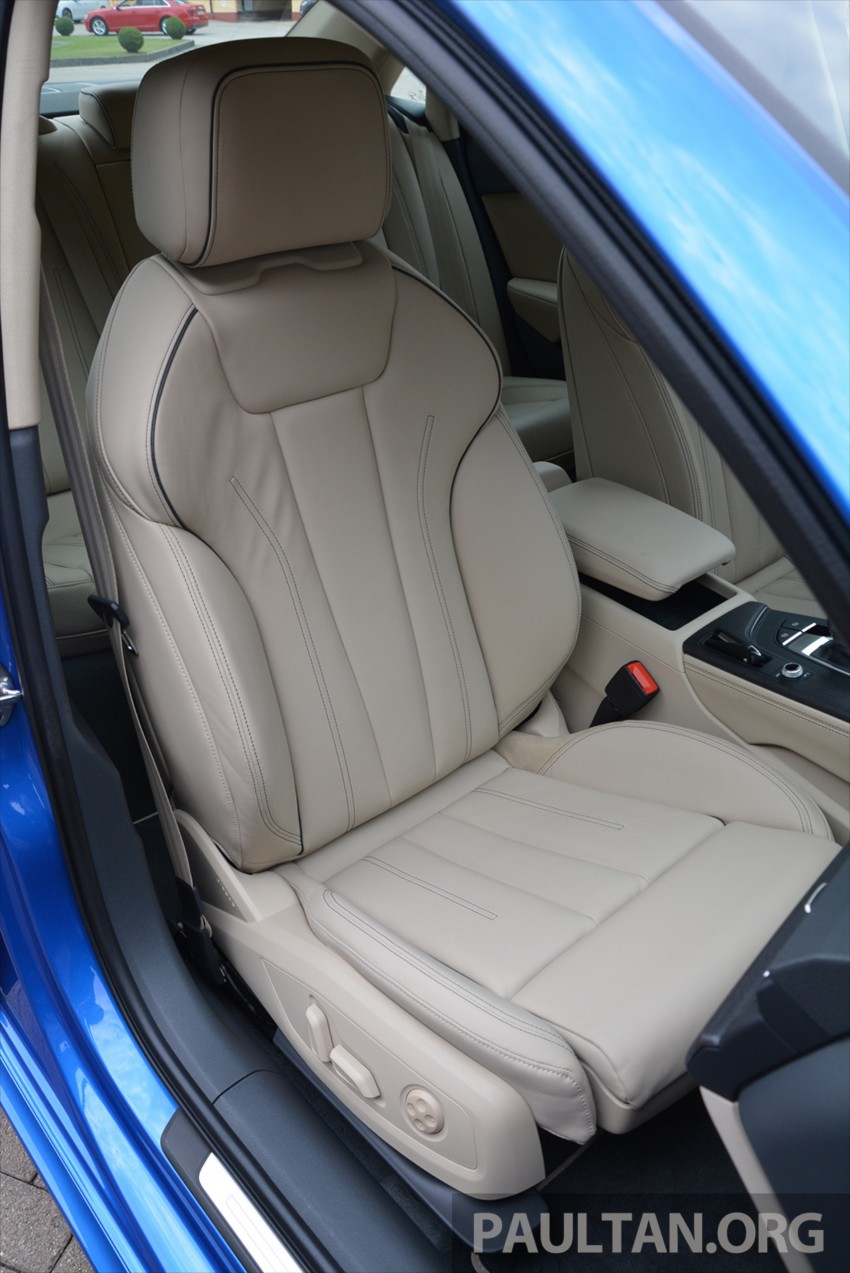 DRIVEN: B9 Audi A4 – handsome suit, inner beauty Image #386308