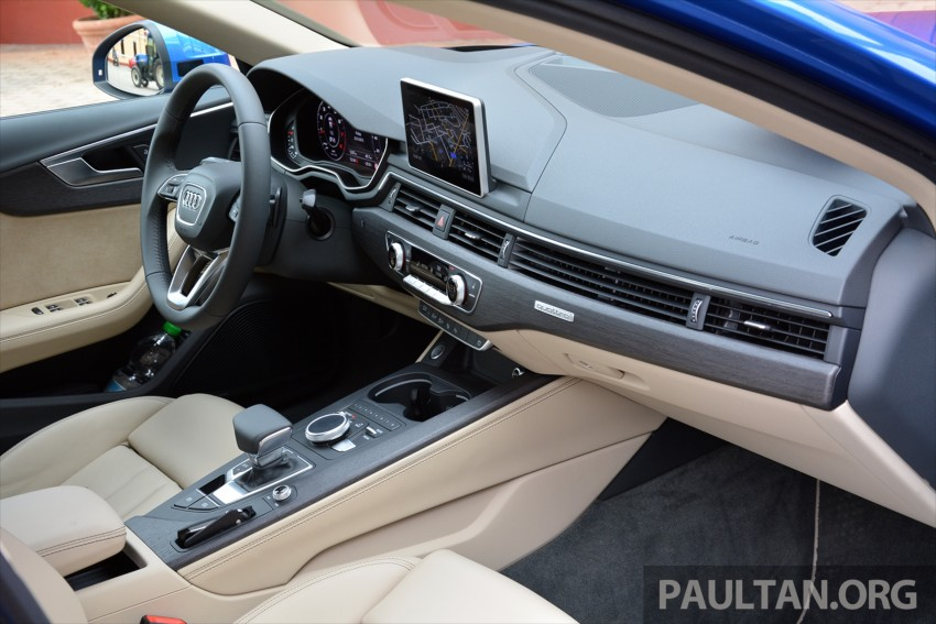 DRIVEN: B9 Audi A4 – handsome suit, inner beauty Image #386322