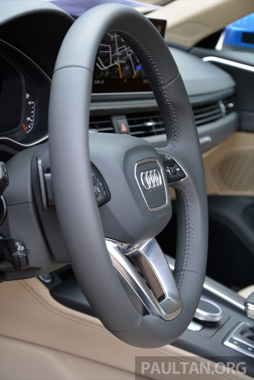 DRIVEN: B9 Audi A4 – handsome suit, inner beauty Image #386345