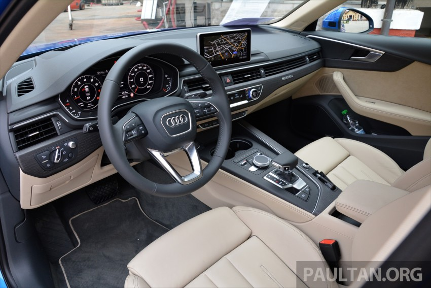 DRIVEN: B9 Audi A4 – handsome suit, inner beauty Image #386334