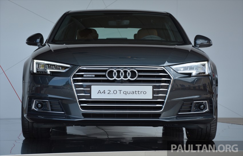 DRIVEN: B9 Audi A4 – handsome suit, inner beauty Image #386337