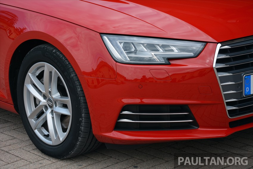 DRIVEN: B9 Audi A4 – handsome suit, inner beauty Image #386355