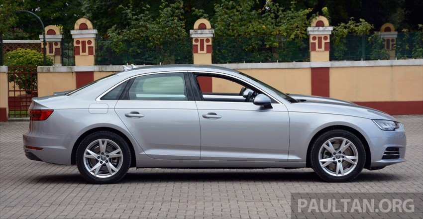 DRIVEN: B9 Audi A4 – handsome suit, inner beauty Image #386358