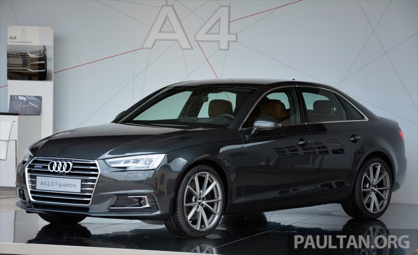 DRIVEN: B9 Audi A4 – handsome suit, inner beauty Image #386359