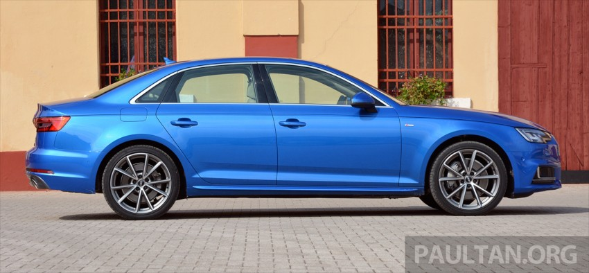 DRIVEN: B9 Audi A4 – handsome suit, inner beauty Image #386362