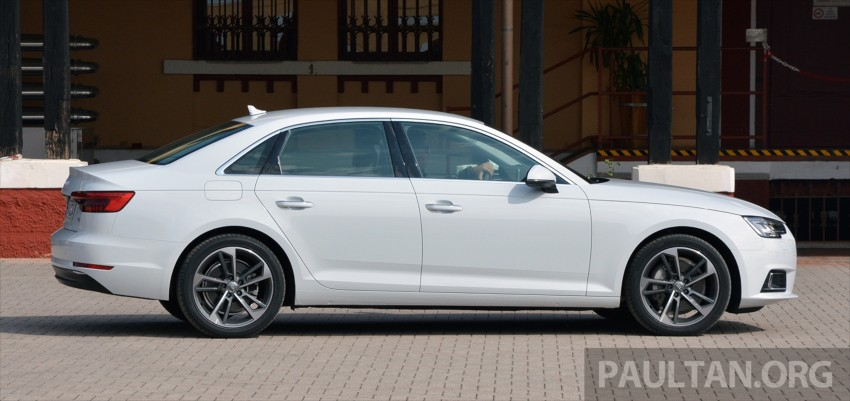 DRIVEN: B9 Audi A4 – handsome suit, inner beauty Image #386363