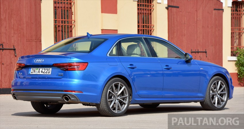 DRIVEN: B9 Audi A4 – handsome suit, inner beauty Image #386364