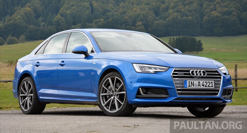 DRIVEN: B9 Audi A4 – handsome suit, inner beauty Image #386365