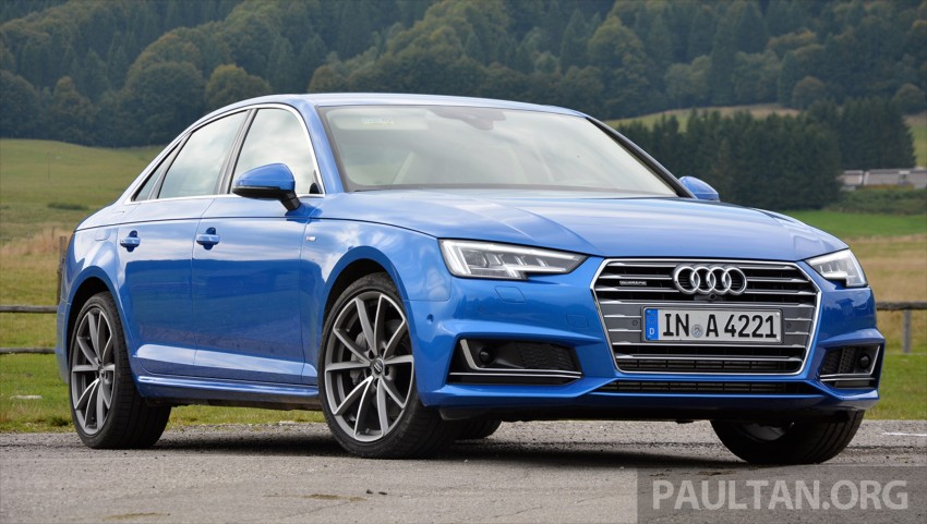 DRIVEN: B9 Audi A4 – handsome suit, inner beauty Image #386370