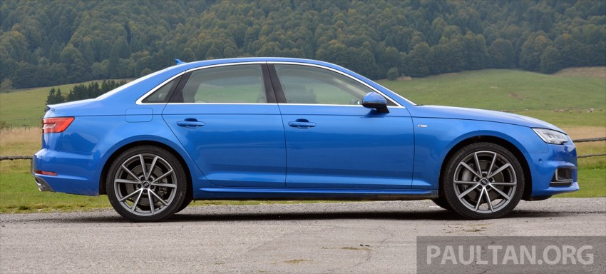 DRIVEN: B9 Audi A4 – handsome suit, inner beauty Image #386371