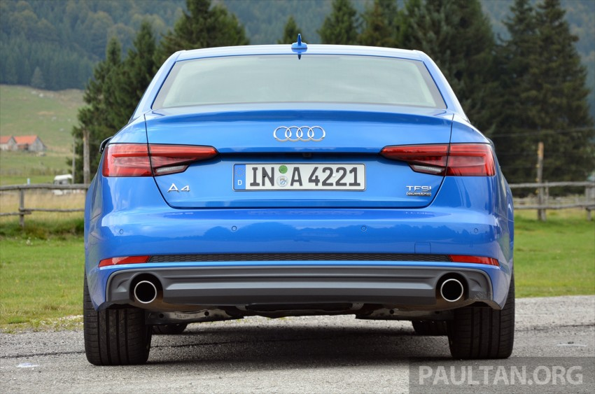 DRIVEN: B9 Audi A4 – handsome suit, inner beauty Image #386372
